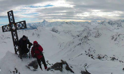 Monte Albergian 3041 m – Condizioni invernali