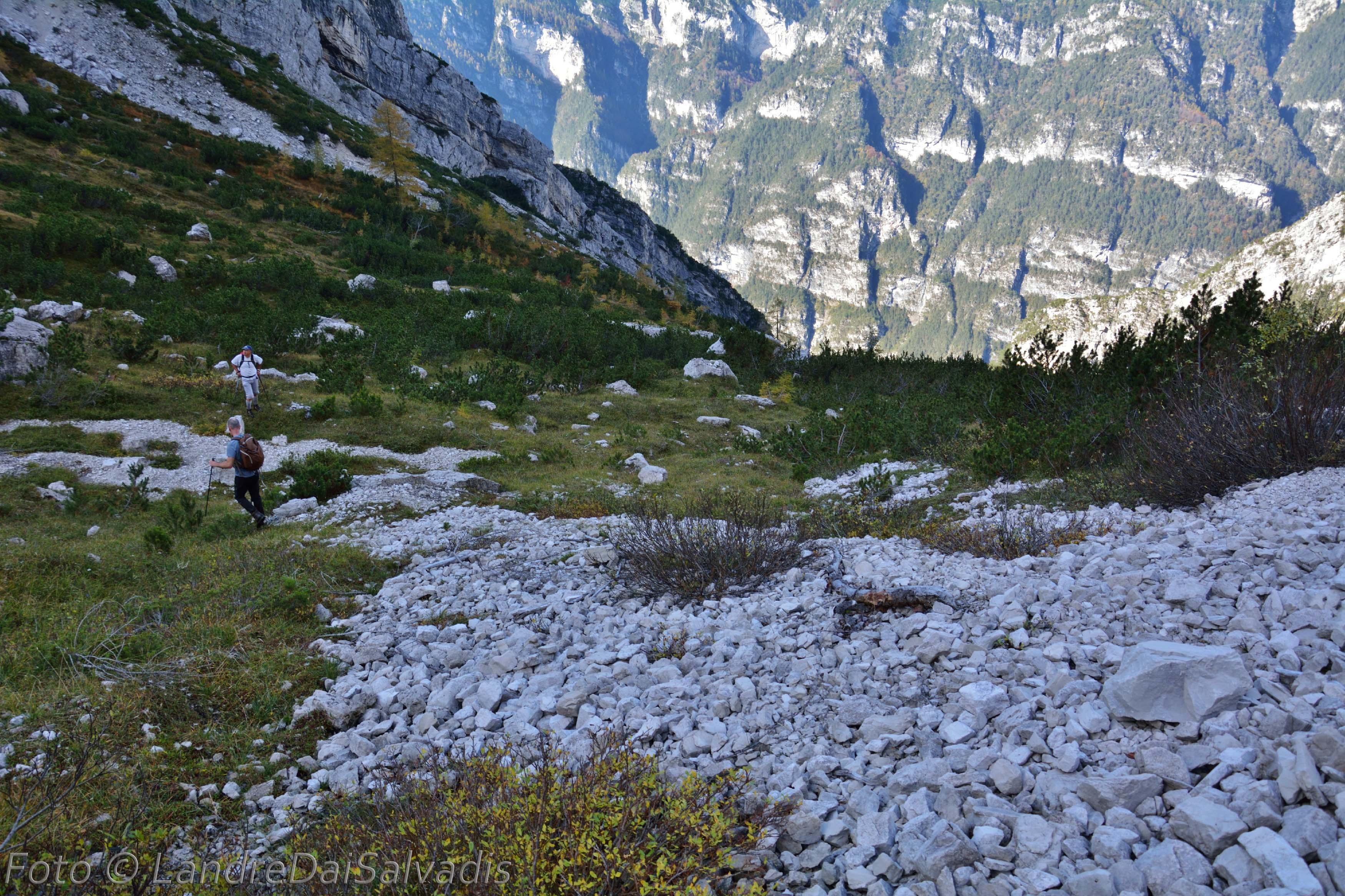 Nella parte alta della Val PIovin.