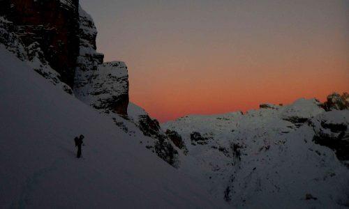 Monte Popera 3046m – Via normale in condizioni invernali