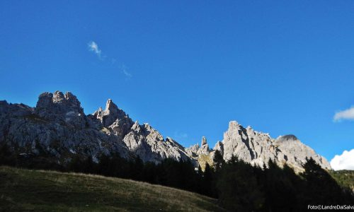 Monte Ciastelin 2570m – Via normale