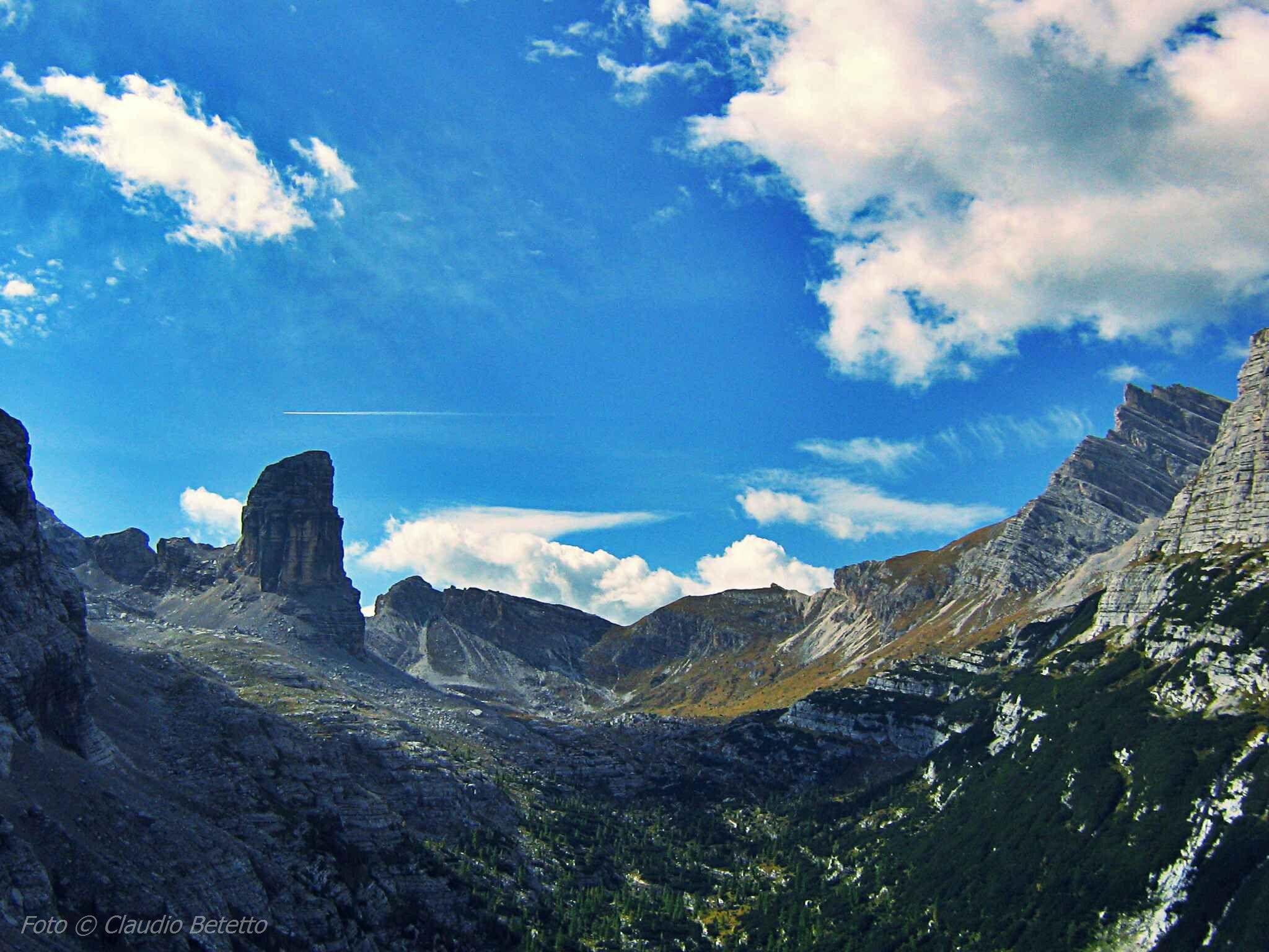 Torre dei Sabbioni e alta valle di San vito