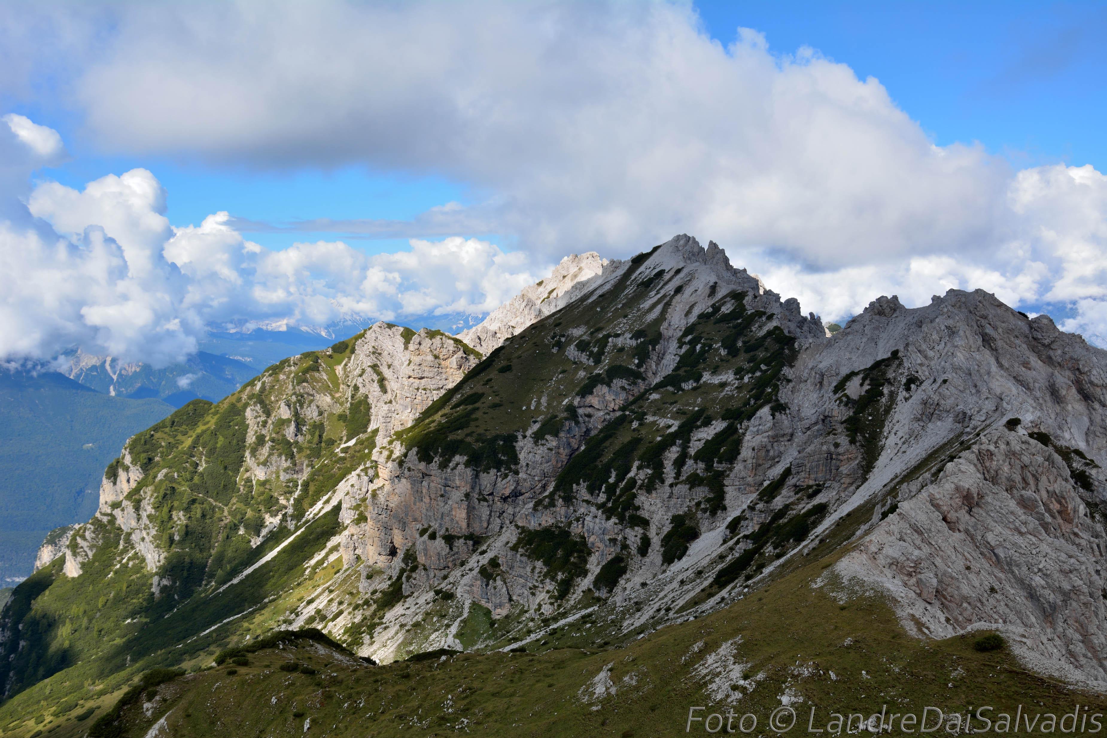 Monte Pera e Pale de l'Aio.