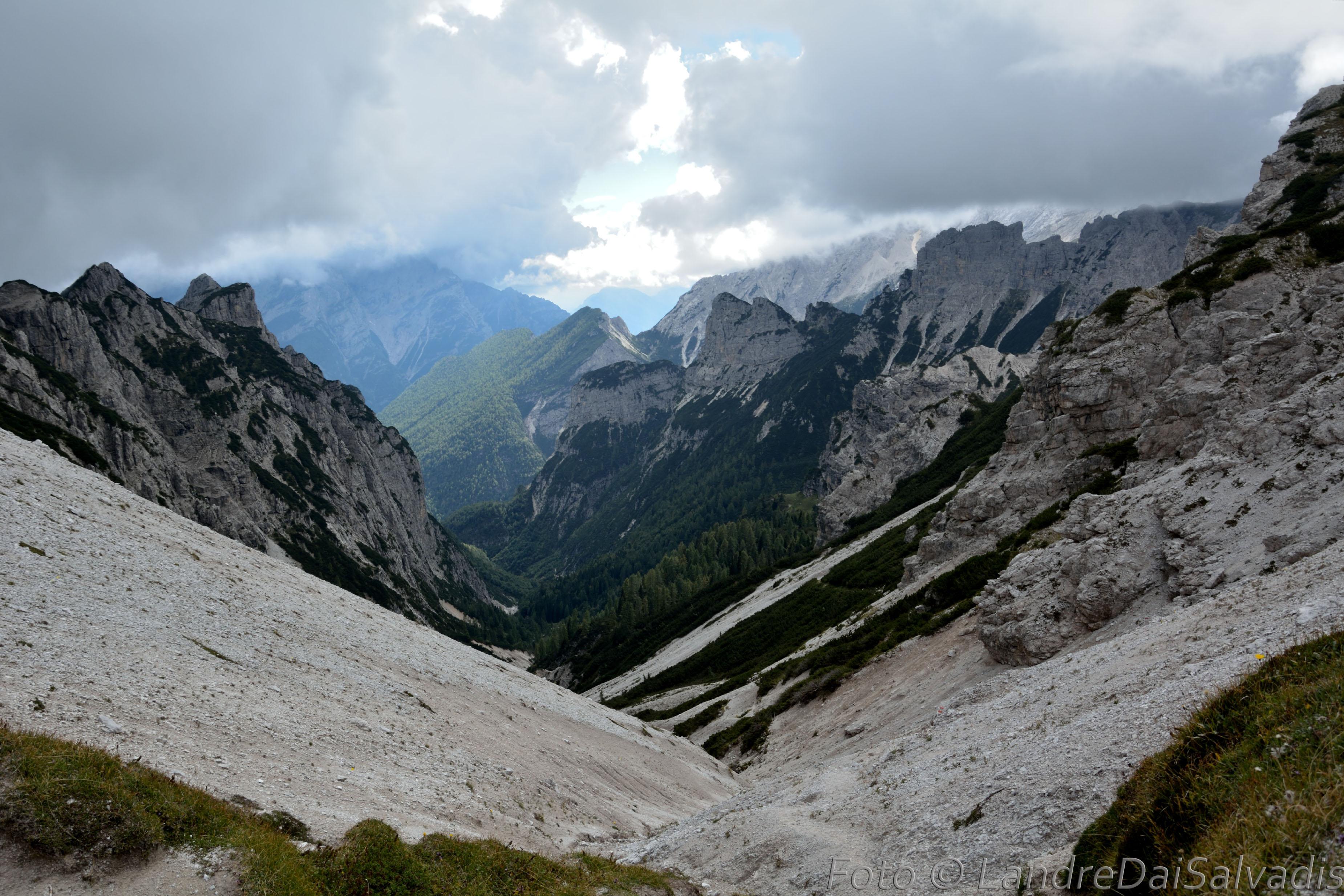 La Val di Santa Maria.