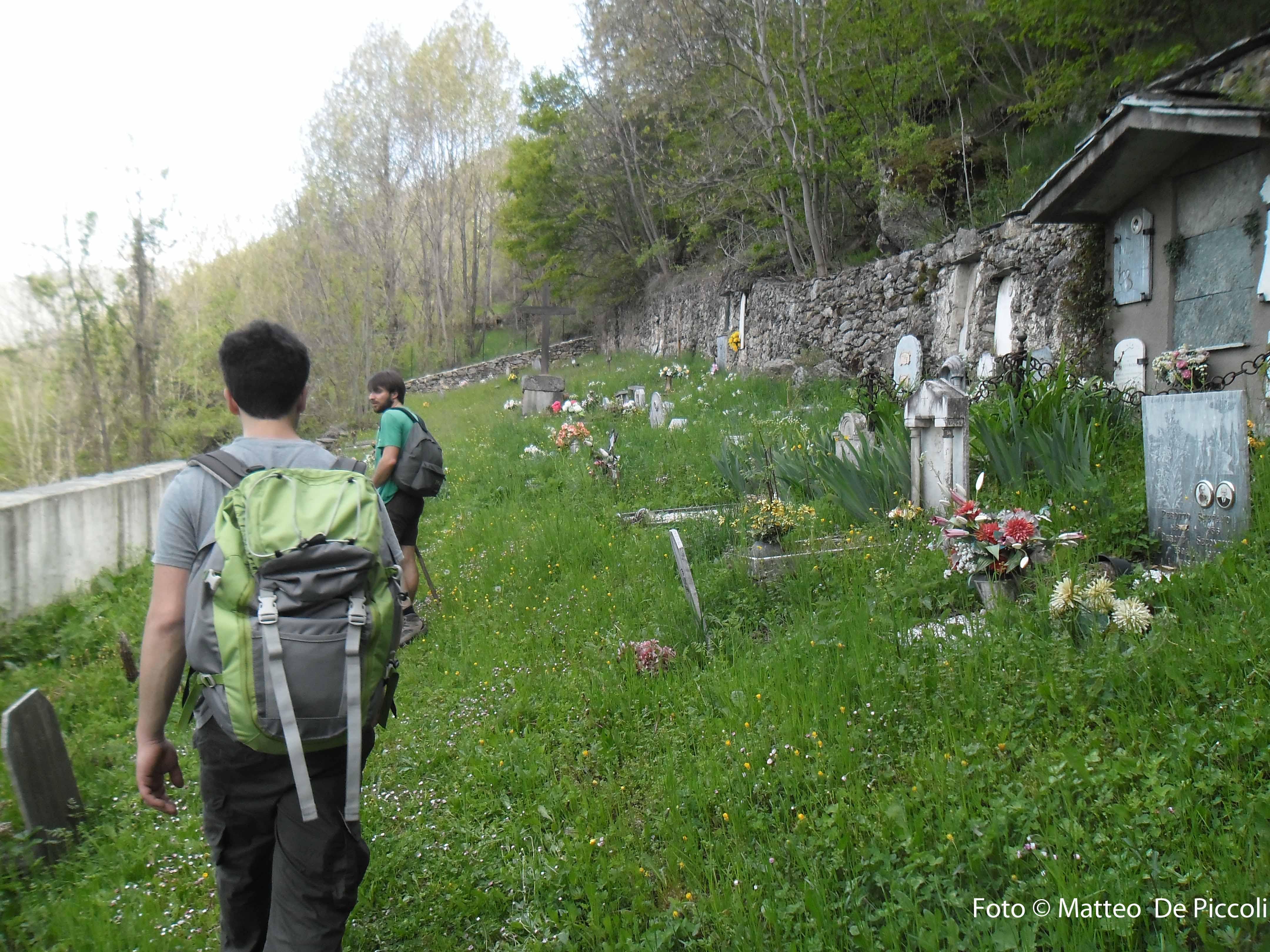 """Il """"vecchio"""" cimitero a Maffiotto"""