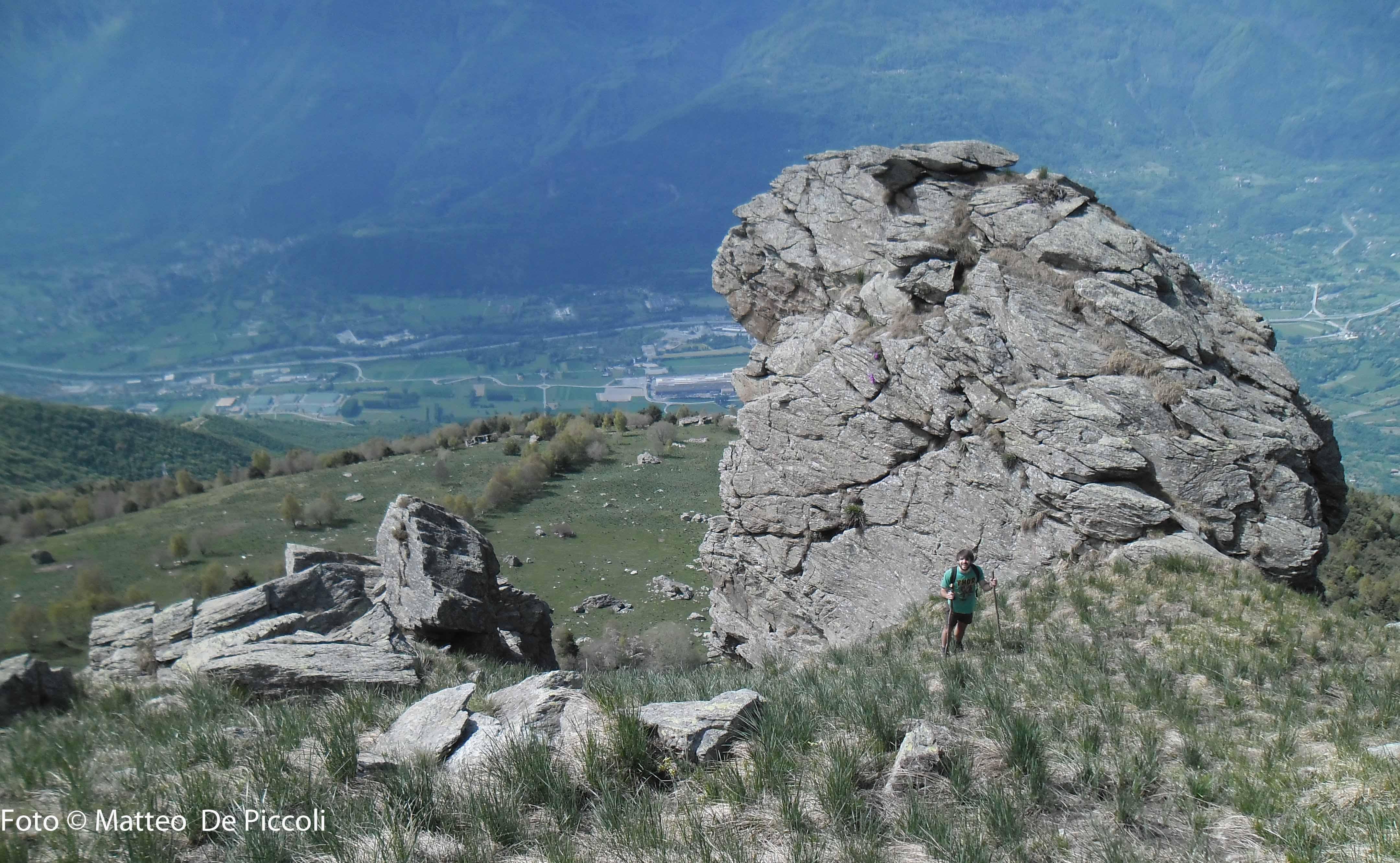 I roccioni sopra l'Alpe Formica