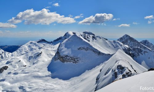 Cornor – Castelat – Guslon — Cavalcata invernale sulla cresta meridionale dell'Alpago