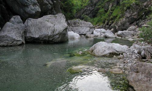 Canal Grande del Meduna – Traversata Diga del Ciul –> Pussa