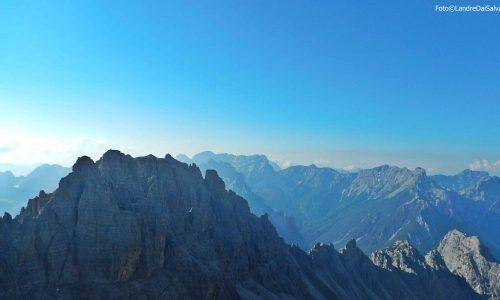 Cresta del Leone – Cima Centrale 2401m