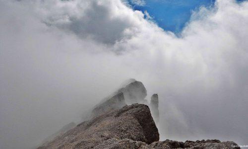 Cresta degli Invalidi dalla Val Baion
