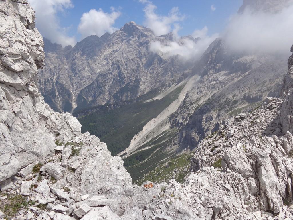 Cima dei Preti dalla cresta del Sass de le Diese