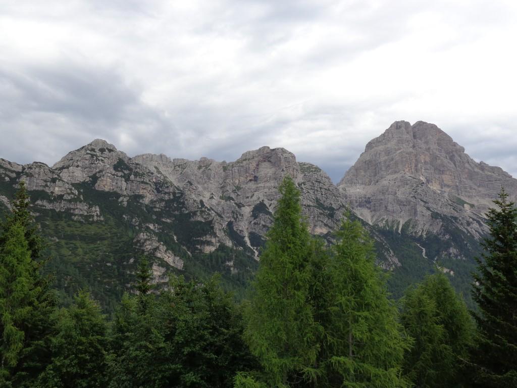 Panorama da Casera Bedin di Sopra