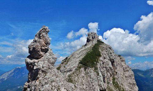Cresta del Miaron – Cime Nord 2200m e Sud 2258m