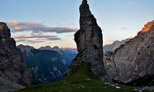 L'urlo Pietrificato, un sogno che si avvera – Campanile di Val Montanaia, Via Corona Carratù Giordani