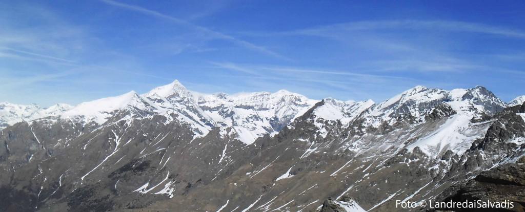 Panoramica sul Rocciamelone