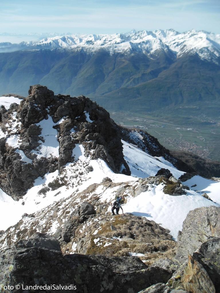 Sulla cresta di Rocca Patanua