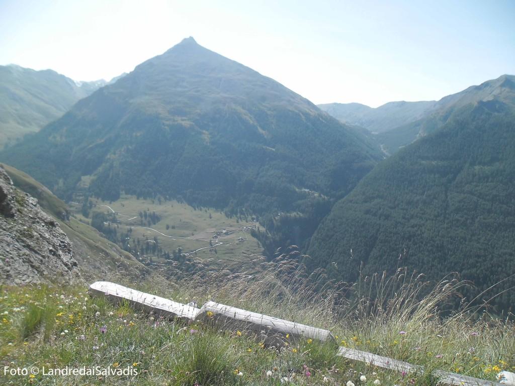 Poco sotto Grange del Vallone, lì sotto l'abitato di Rochemolles. Di fronte la Tete Pierre Muret 3035m