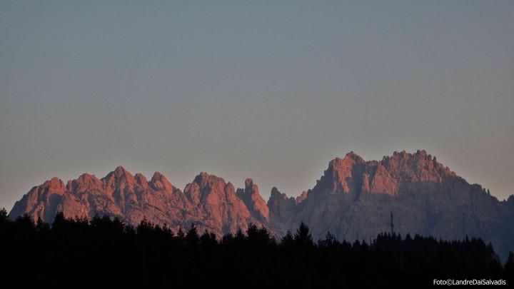 Miaron- cridola al tramonto
