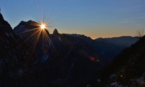 Cima dei Preti 2706m – D'inverno sul tetto d'Oltre Piave