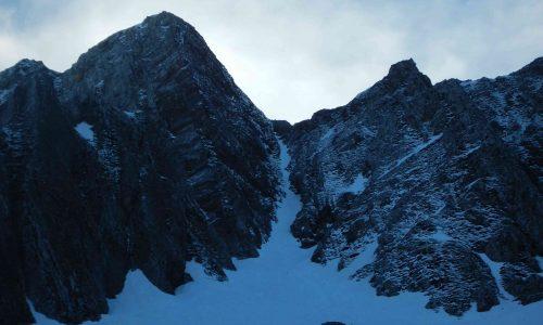 Monte Messer 2230m per Canale e Cresta dei Noni