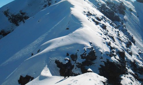 Deviazione al Mont Dzalou (3003m) – Cresta Ovest