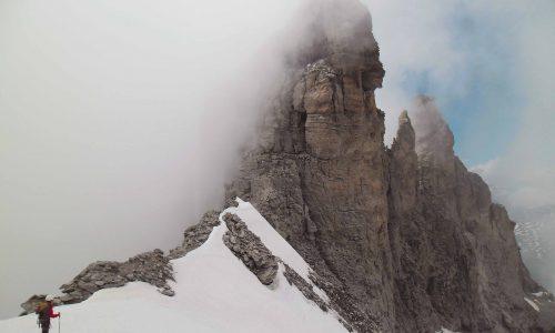 Dente Meridionale d'Ambin 3371m, Parete Nord – Un alpinismo d'altri tempi