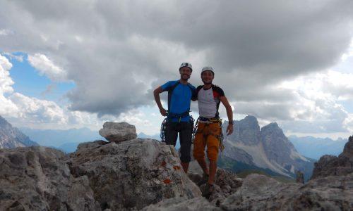 Via Ruggito del Coniglio – Campanile Federa, 2700 m ca.