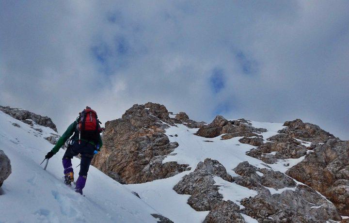 Punta Nera 2847m – Via normale in condizioni invernali