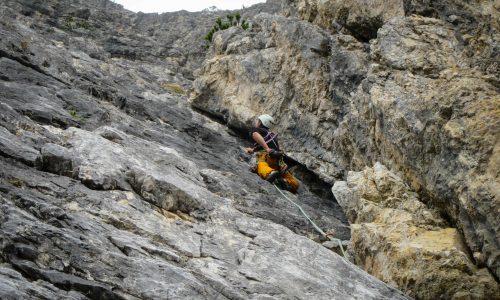 Diedro Mazzorana – Monte Popena (2224m)