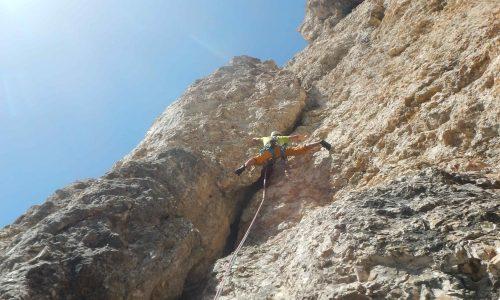 Via Dibona – Torre Grande di Falzarego