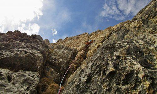 Via del Buco – Piccolo Lagazuoi 2778m