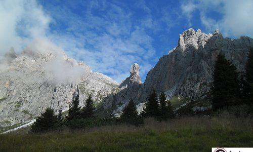 Pupo di Lozzo 2371 m – Via dei Ragni + Via Olivo