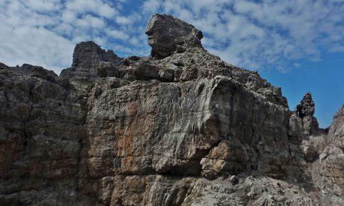 Forcelle Montanaia e Segnata – L'anello dal Rifugio Padova