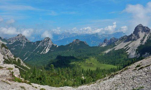 Val di Brica e Val Binon – L'anello completo da Pian Meluzzo