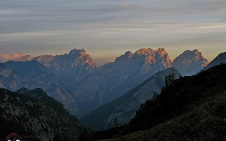 Cima dei Vieres, Punta Susana, Cima Spalavier, Punta del Borsàt – Traversata integrale Val Settimana -> Val Cimoliana
