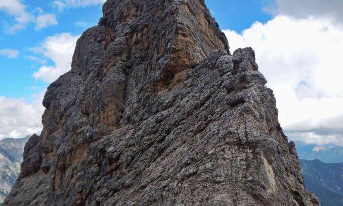 Cimon delle Tempie 2279 m – Cima Savalon 2132 m – Cima Settimana 2125 m – Spigolo Sud-Est e traversata per cresta