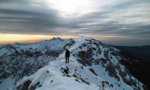 Magia e avventura in Alpago – Messer e Antander in veste invernale