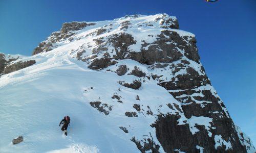 Cima Brica in veste invernale (2362 m) – Un viaggio nel Cuore delle Dolomiti Friulane