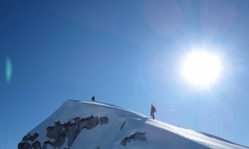 Cimon del Cavallo (Cima Manera) dall'Alpago 2251 m, Condizioni Invernali – Un viaggio Inaspettato