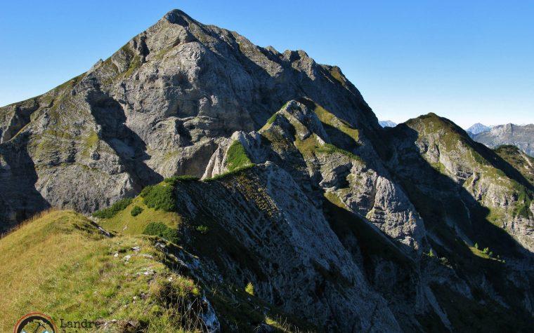 """Monte Turlòn 2312m e Pale Candele 2251m – Traversata per cresta salendo il """"sentiero fantasma"""""""